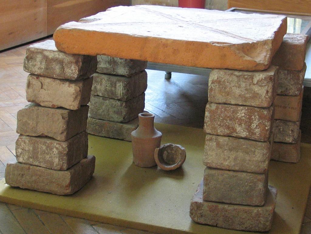 3.Cărămizi romane de la Tibiscum